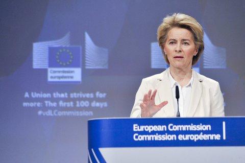 Viel zu tun: EU-Kommissionschefin Ursula von der Leyen will Arbeitsplätze sichern.