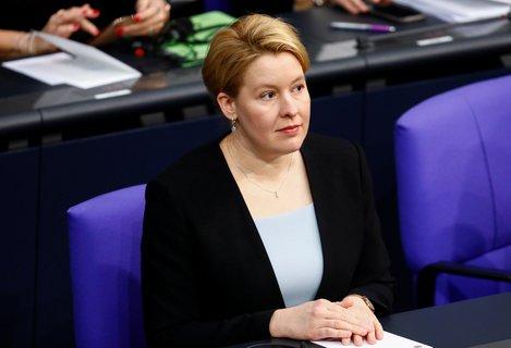 Befürchtet einen Anstieg der häuslichen Gewalt aufgrund der Ausgangsbeschränkungen: Familienministerin Franziska Giffey