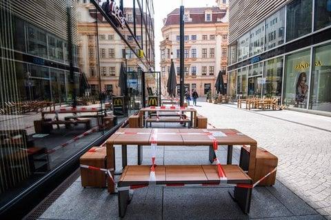 Fußgängerzone in Leipzig