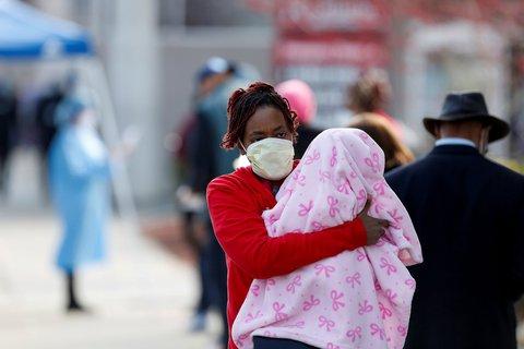 In Chicago ist die Zahl der afroamerikanischen Einwohner besonders hoch - und auch die der Coronavirus-Infizierten.