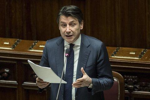 Der italienische Ministerpräsident Giuseppe Conte.