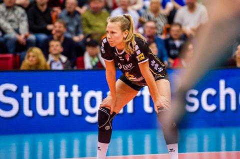 Andere Erwartungen: SCP-Volleyballerin Antonia Stautz fühlt sich ungleich behandelt.