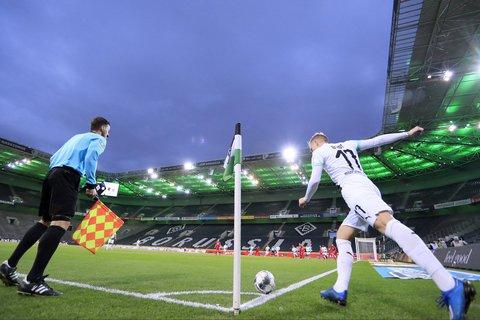 Um die Ecke gedacht: Geisterspiele sollen die Lösung für die Saisonfortsetzung in der Bundesliga werden.
