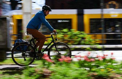 Für den Weg zur Arbeit braucht es kein Mountainbike.