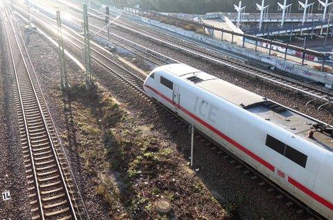 Muss m?glicherweise tausende Stellen abbauen: die Deutsche Bahn