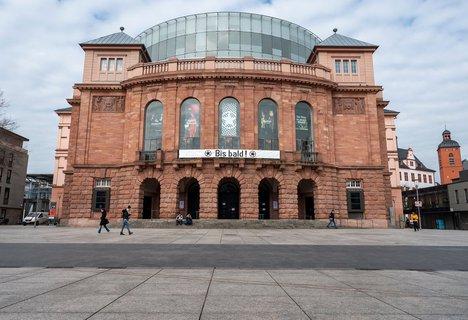 Bis bald: Das Staatstheater Mainz hofft auf eine schnelle ?ffnung?