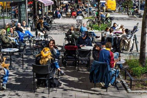 Lokale sind in Schweden unter Auflagen weiter geöffnet.