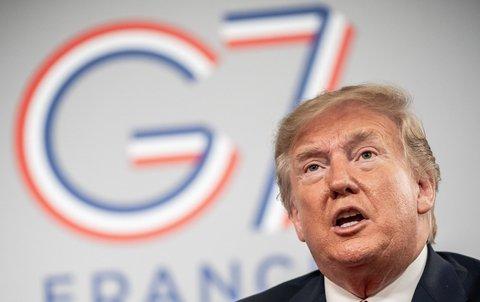 US-Präsident Donald Trump ist Gestgeber des diesjährigen G7-Gipfeltreffens