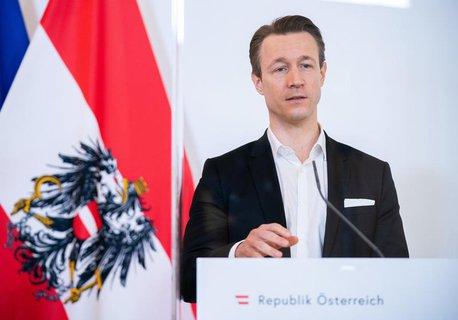 Österreichs Finanzminister Gernot Blümel (ÖVP).