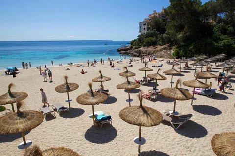 Auf Mallorca. Foto: AFP