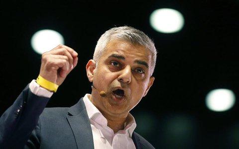 Londons Bürgermeister Sadiq Khan.