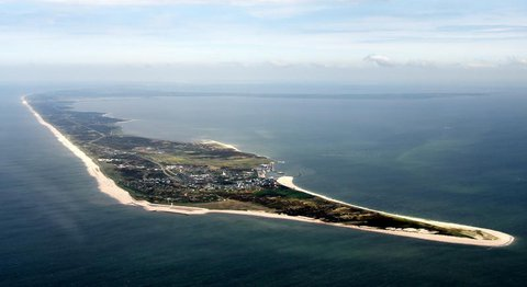 Die Südspitze der Nordsee-Insel Sylt.