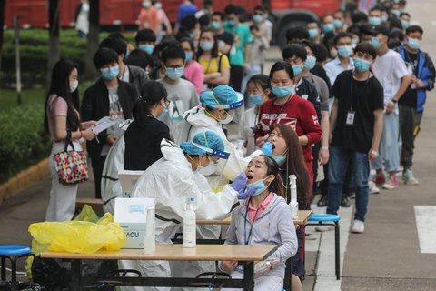 Seit Mitte Mai wurden 10 Millionen Menschen in Wuhan auf das Coronavirus getestet.