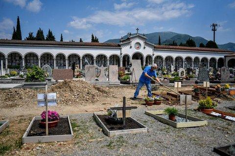Friedhof in Bergamo