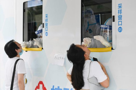 Mobile Teststation in Peking