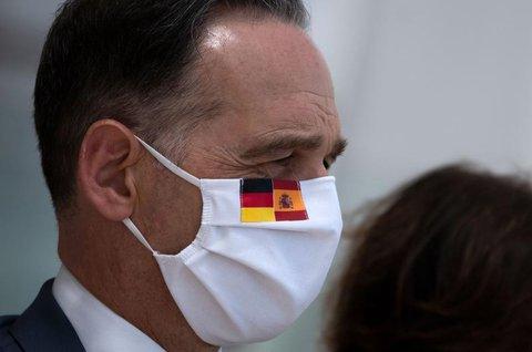 Bundesaußenminister Heiko Maas (SPD) bei einem Besuch in Spanien