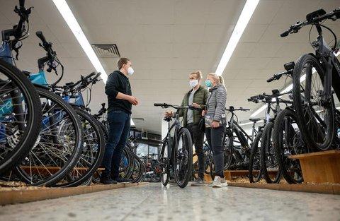 """""""Die Kollegen in den Fahrradgeschäften machen Überstunden wie nichts Gutes"""", sagt Albert Herresthal vom Verbund Service und Fahrrad."""