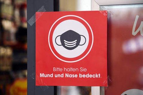 Maskenpflicht in Geschäften