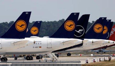Flugzeuge der Airline Lufthansa