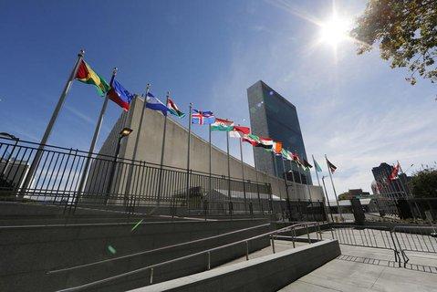 Die Zentrale der UN in New York.