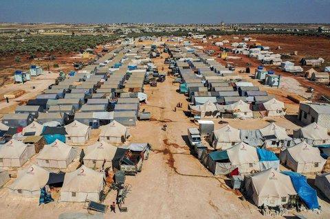 Es wird befürchtet, dass sich das Virus in den Flüchtlingslagern in Idlib ausbreitet.