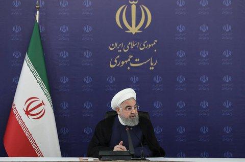 Irans Präsident Hassan Ruhani.