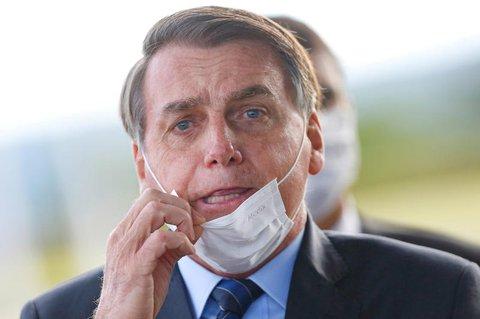 Jair Bolsonaro hatte seine Erkrankung am Dienstag bekanntgegeben.
