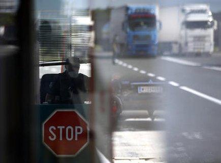Grenzübergang von Ungarn nach Serbien