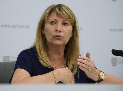 Sozialministerin von Sachsen: Petra Köpping (SPD).