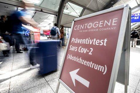 Am Flughafen Frankfurt gibt es bereits ein Corona-Testzentrum