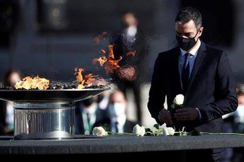 Trauerzeremonie für die Corona-Toten in Spanien