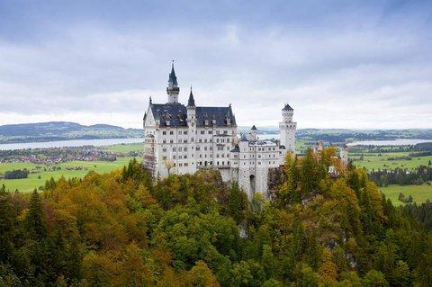 Bayern wird bevorzugt. Hier das Schloss Neuschwanstein.