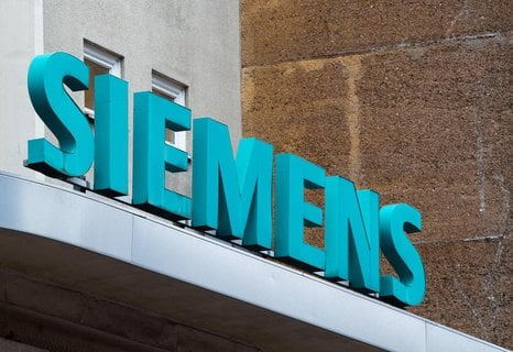 Das Siemens-Geschäft hat bisher nicht so gelitten wie das anderer Unternehmen.