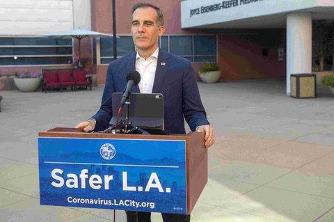 Der Bürgermeister von L.A.: Eric Garcetti/