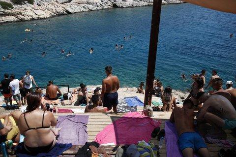 Strand nahe Athen.