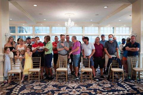Nur wenige Gäste trugen Masken.