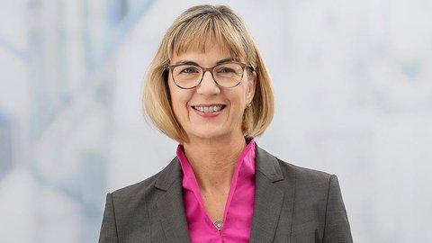 Die Vorsitzende des Marburger Bundes: Susanne Johna.