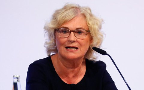 Bundesjustizministerin Christine Lambrecht (SPD).