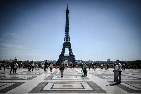 Frankreich verzeichnet weniger Gäste aus dem Ausland.