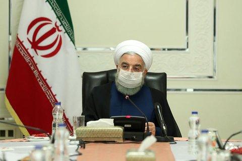 Der iranische Präsident Hassan Ruhani.