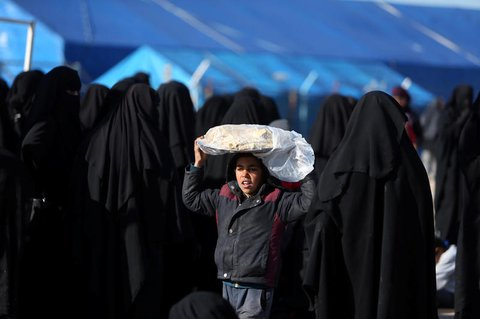 Nach Angaben von Save the Childrenleben in dem Lager rund 65.000 Menschen, unter ihnen 43.000 Minderjährige.