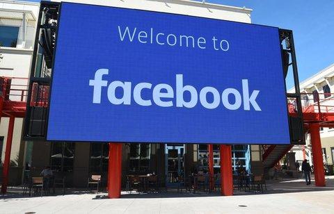 Facebook-Campus in Menlo Park, California.