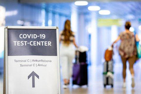 Testzentrum am Flughafen Hannover-Langenhagen