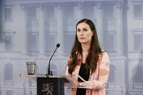 Die finnische Ministerpräsidentin Sanna Mari.