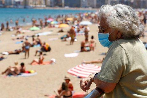 Auf den Kanaren gilt jetzt auch die Maskenpflicht im Freien.