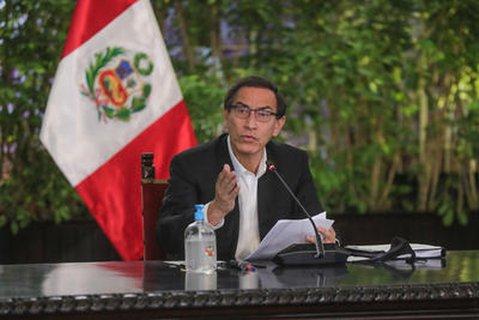 Martin Vizcarra, Präsident von Peru.