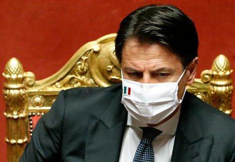 Italienischer Premierminister Giuseppe Conte