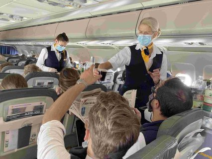 Die Luftfahrt-Branche ist von Corona besonders betroffen.