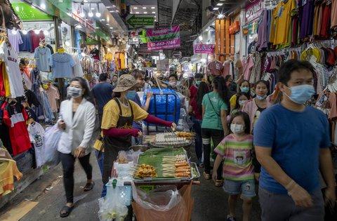 Ein Jahrmarkt in Thailand