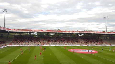 Erstmals seit dem 1. März dürfen Fans wieder ein Spiel im Stadion An der Alten Försterei sehen.